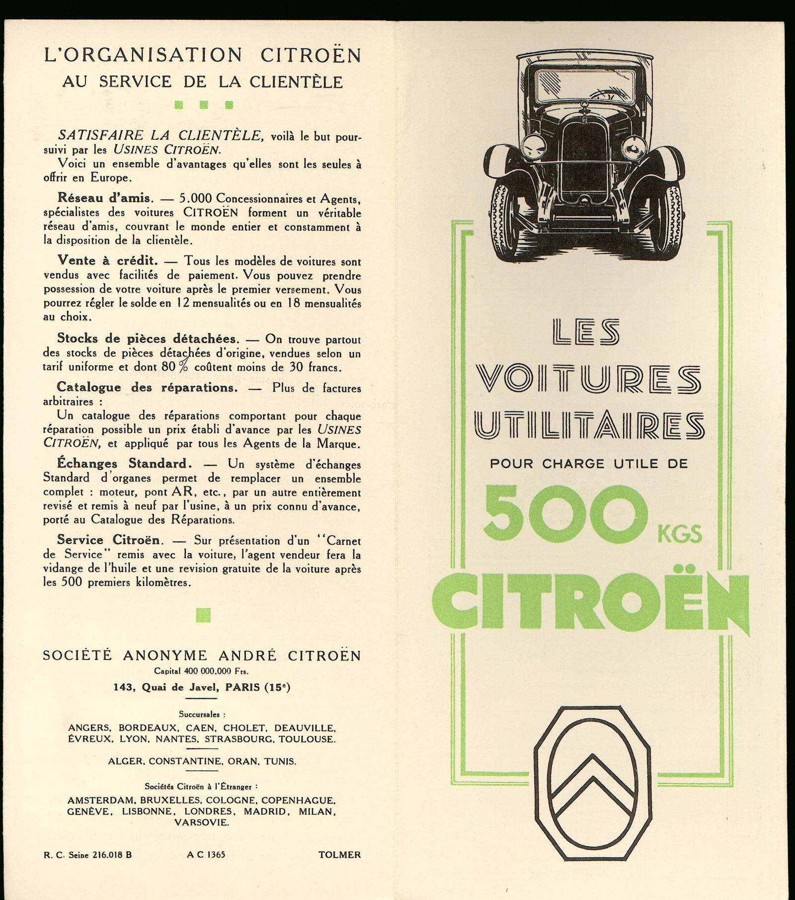 Brochure C4 Fourgon