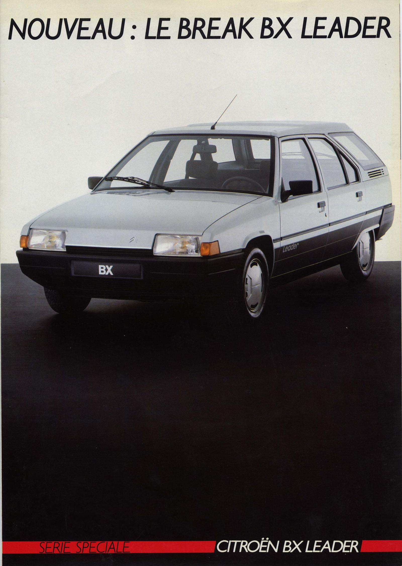 Broschüre BX Leader Break 1986