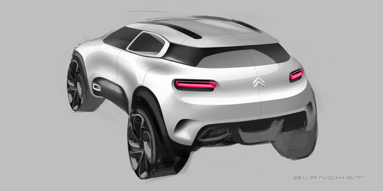 Maquette Concept Aircross