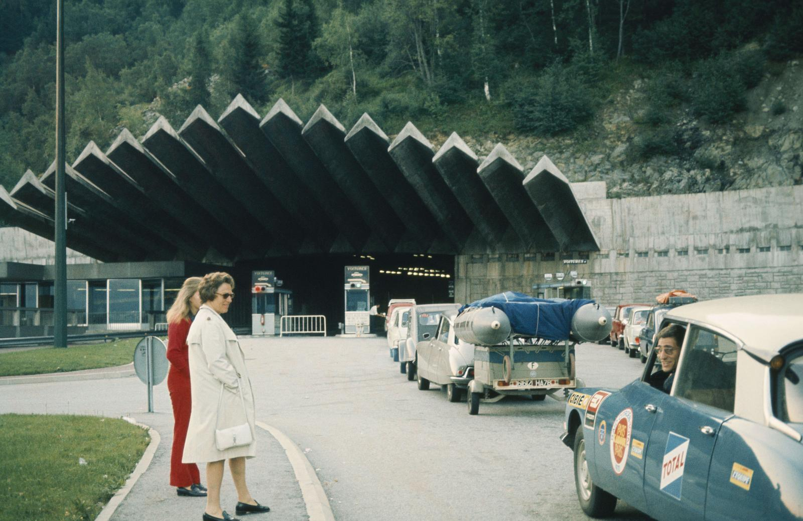 Rallye Marokko - Tunnel  - DS - 1970